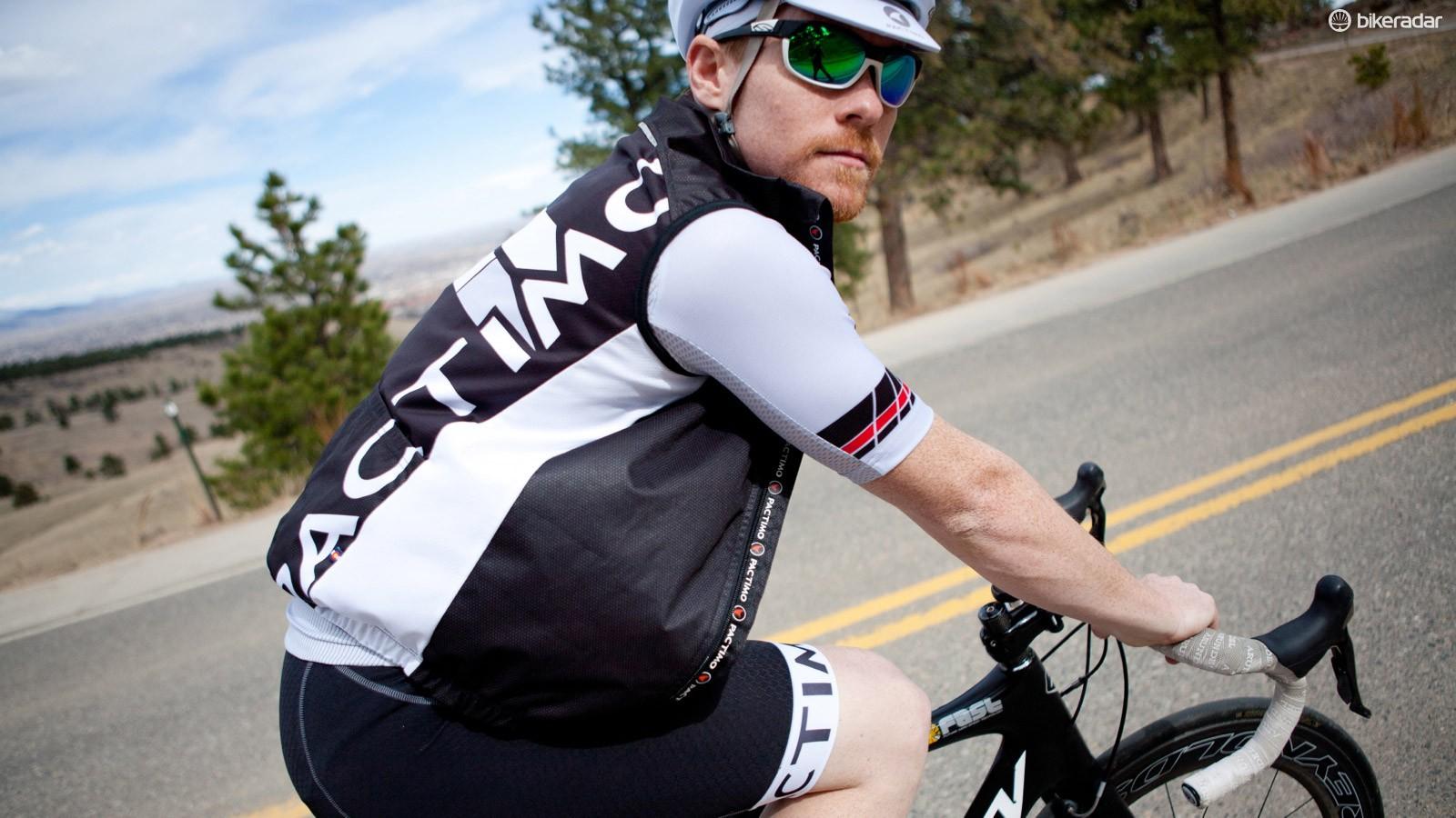 The Summit jersey and new Breckenridge W-XD vest