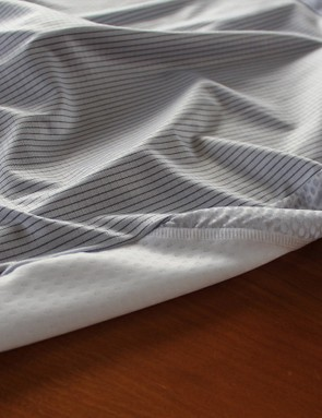 A closer look at the base layer fabric used under the Summit's arms