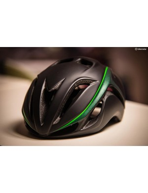With Cavendish's logos and color scheme, the helmet is priced at $250