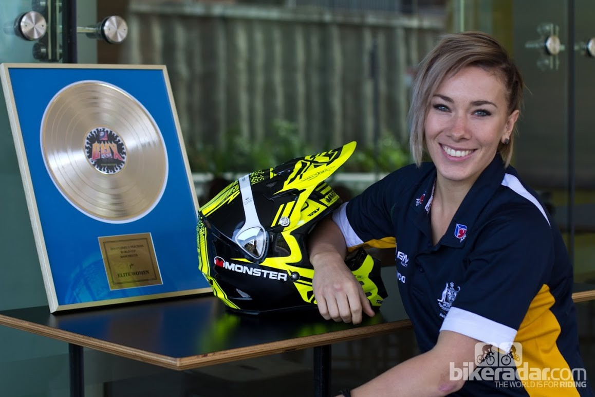 Caroline Buchanan was the 2013 Australian cyclist of the year