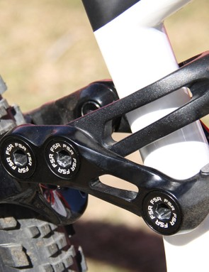 Keene likes his bikes low and slack – this special link differentiates his S-Works Enduro 29 from the production version