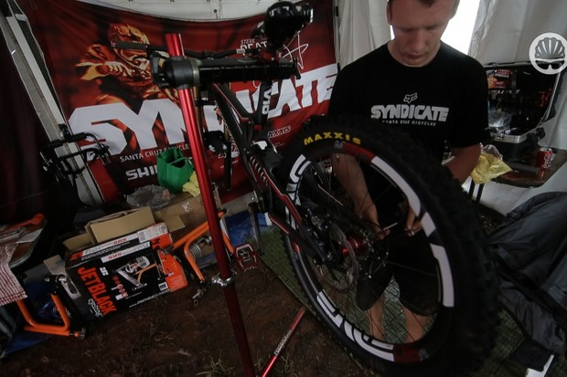 What keeps a mountain bike mechanic busy? Find out