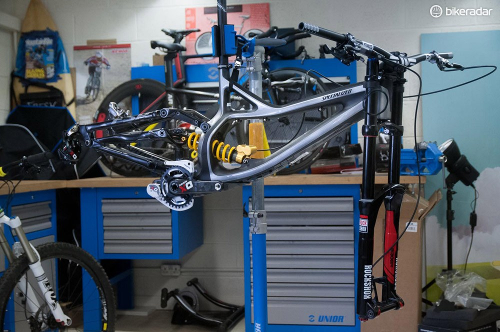 Specialized S-Works Demo 8 Carbon frame 2014