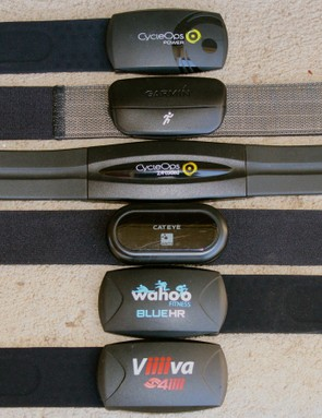 Heart-rate straps come in all shapes and sizes —and they work with more devices than ever