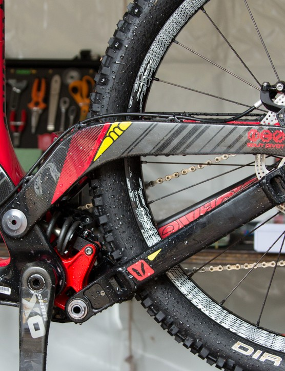 Although Stevie Smith hasn't returned to racing because of injury, the rest of the Devinci Global Racing team were there