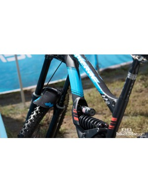 New Zealand's Samuel Blenkinsop (Lapierre Gravity Republic) qualified first, but couldn't back it up on race day. We quite like his integrated seatpost collar