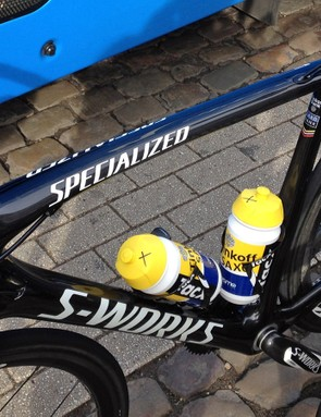Huge tube diameters and rounded shapes are the defining characteristics of the new Specialized S-Works Tarmac SL5