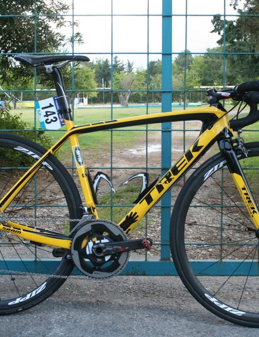 Merhawi Kudus' (MTN-Qhubeka) Trek 7-Series H1 for the Tour of Turkey