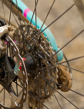 Santa Cruz sticks with IS disc brake mounts