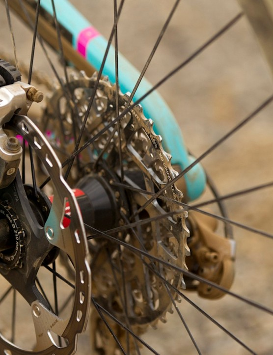 Santa Cruz sticks with IS disc brake mounts