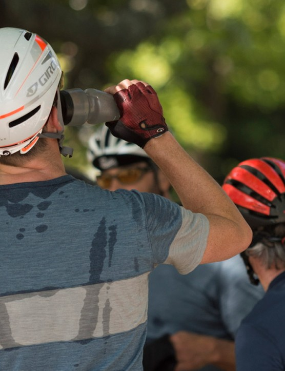 Merino shirts and jerseys do beat back the stink, but they're not as quick-drying as synthetics