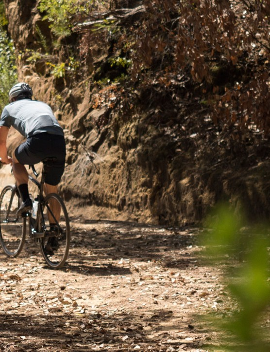 Giro took media around Santa Cruz county to show off the local area and the New Road clothing