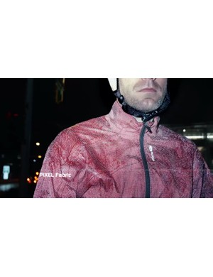 Like a disco ball: Sugoi's ZAP jacket completely transforms when hit with artificial light