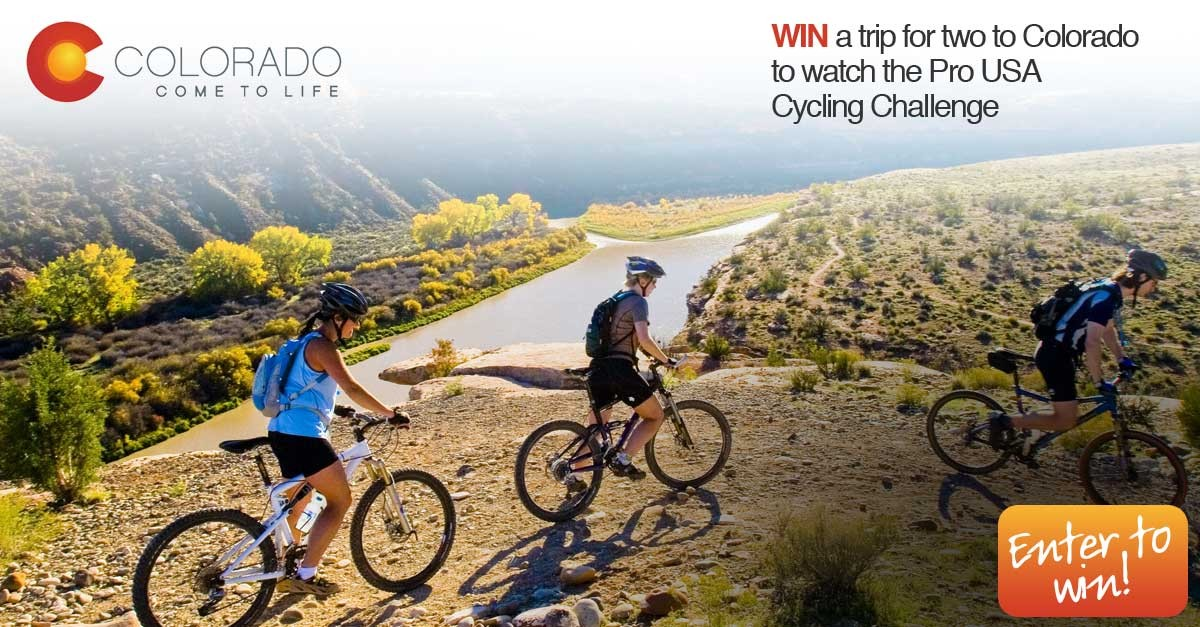 Win a trip for two to Colorado to watch the USA Pro Cycling Challenge