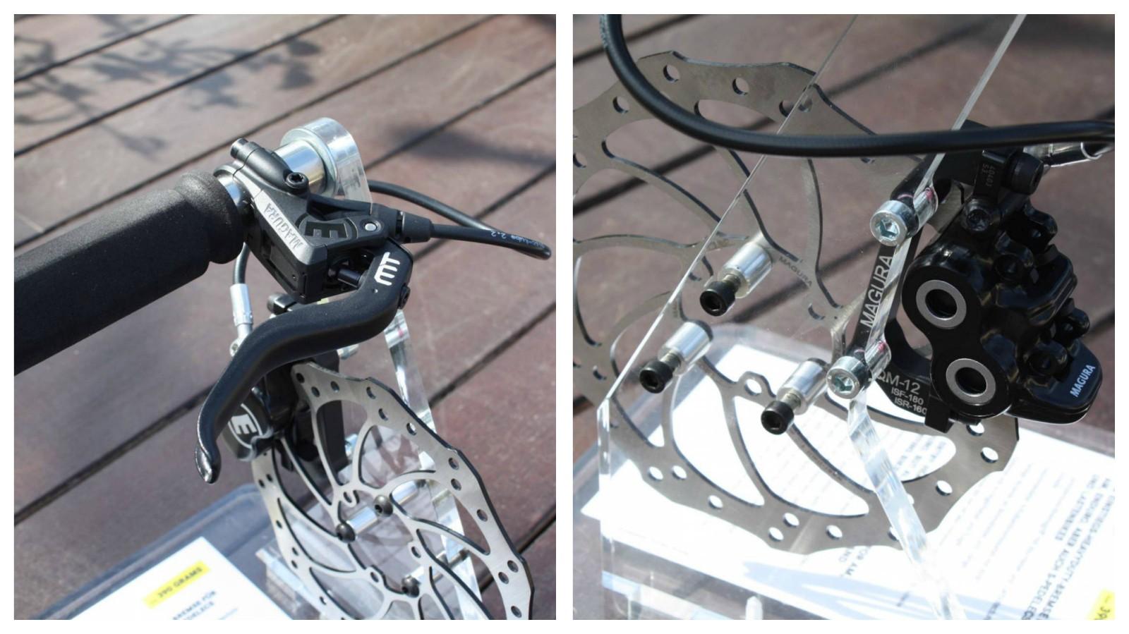 Magura MT5 lever and caliper