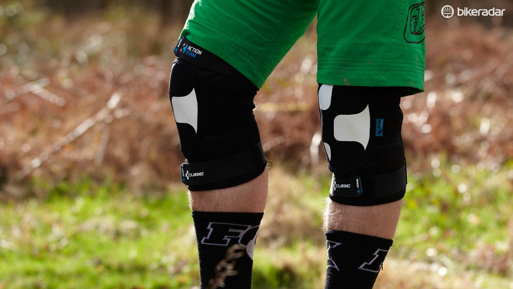 Cube Action Team knee pads mould quickly to your limbs