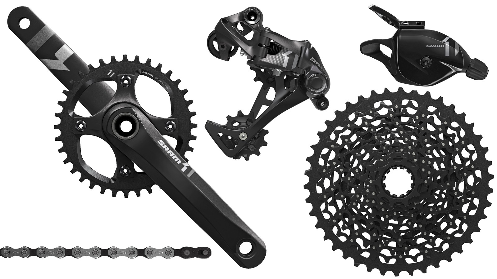 SRAM is adding a third 1x11 drivetrain to its line. X1 is the most affordable 11-speed mountain group to date