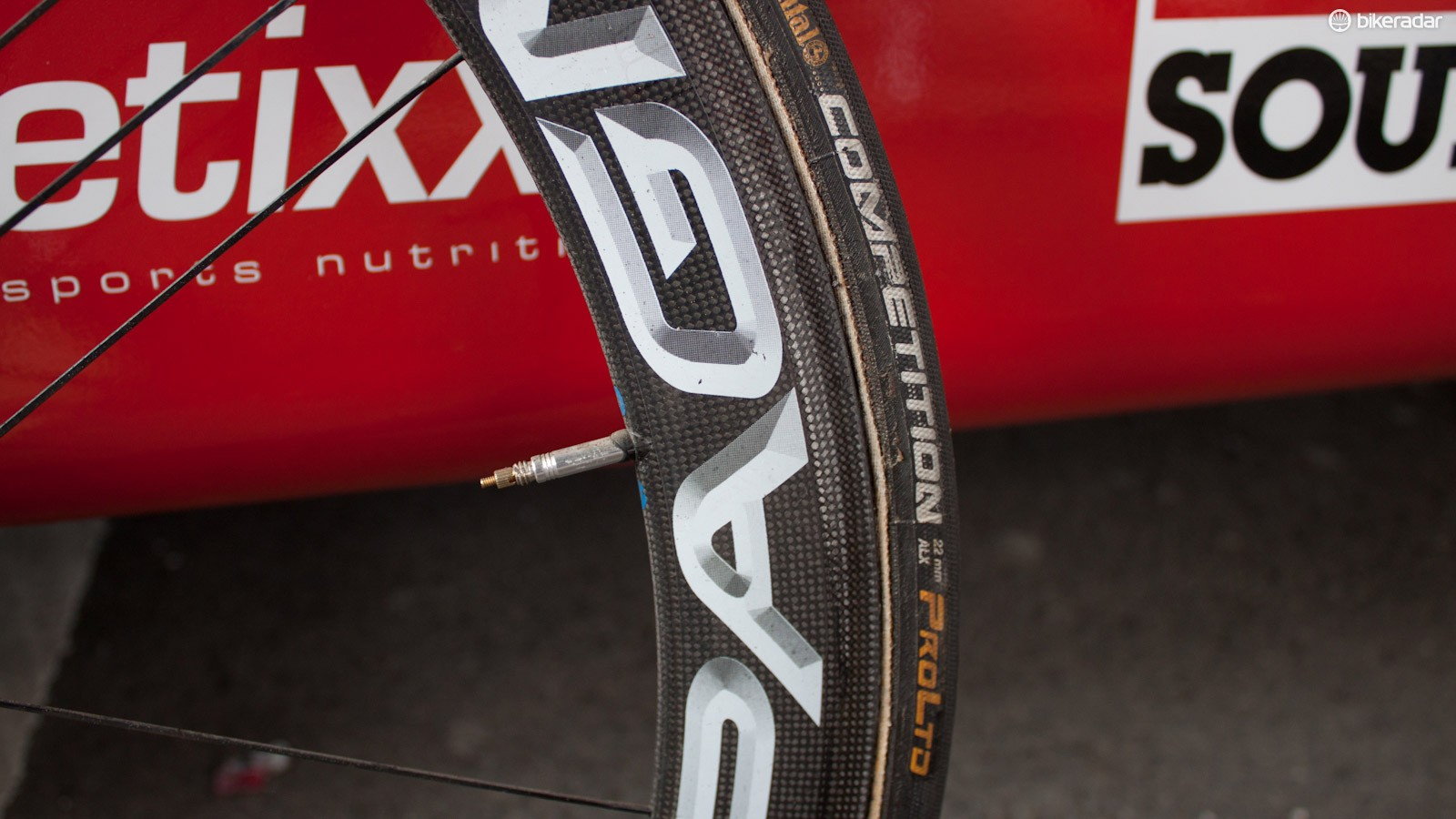 These pro-only edition tubulars are just 22mm wide