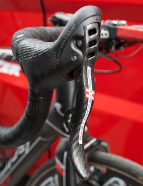 Super Record EPS is Campagnolo's flagship electronic groupset