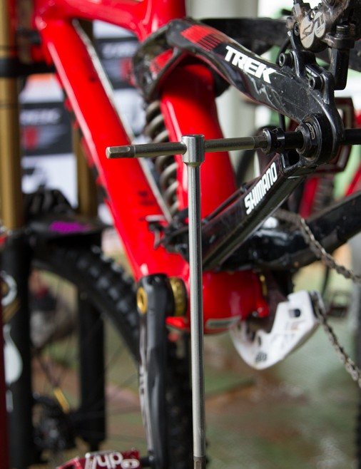 High-end Beta Allen keys were under use at Trek World Racing and many other teams