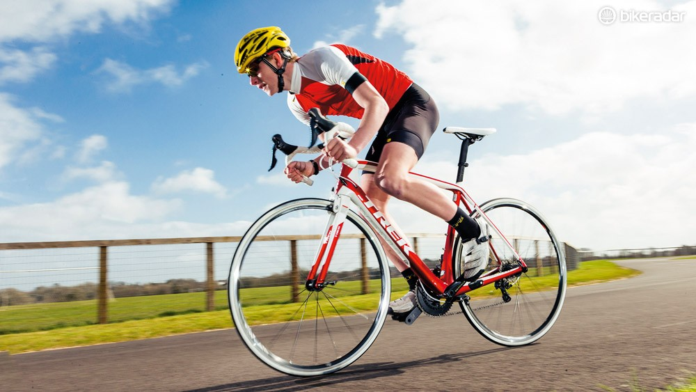 The Madone 5.2's handling is predictably superb; it also offers a surprisingly comfortable ride