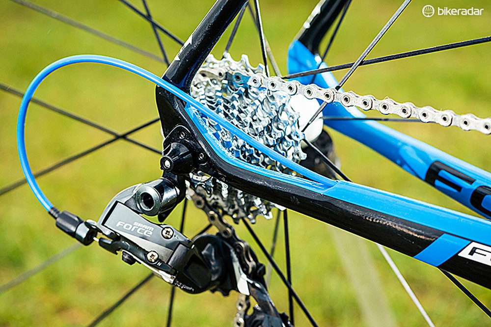 SRAM Force 22 lives up to its name, providing 22 truly usable gears