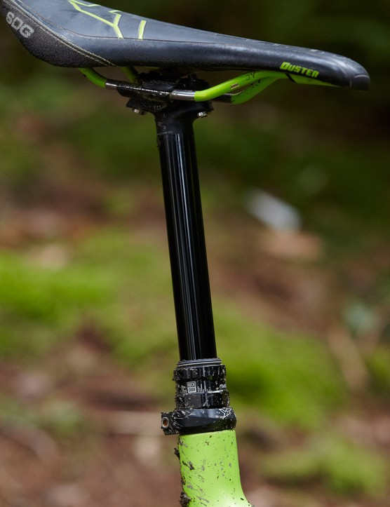RockShox' Reverb Stealth is incredible value on a steed at this price