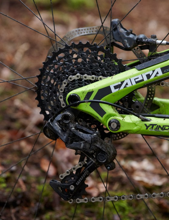 The Race Face, SRAM X01, e*thirteen and Maxxis specification is an enduro Who's Who
