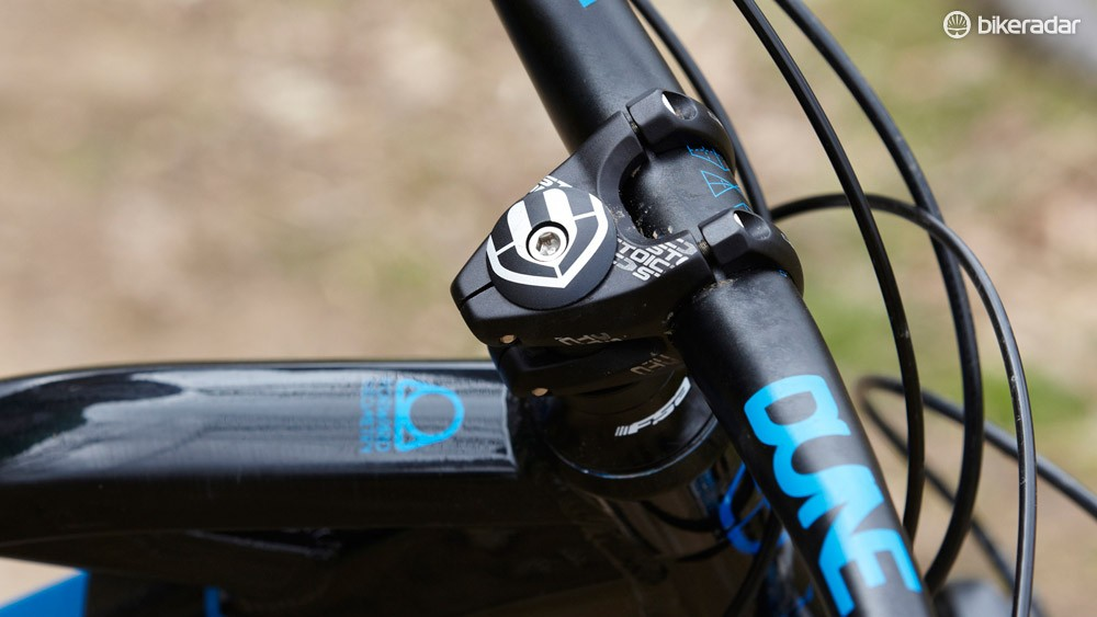 Mondraker's Forward Geometry centres around a radically short 10 or 30mm stem and extended front triangle to deliver super-light steering with impeccable balance