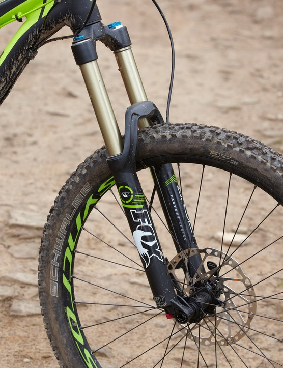 Extending Fox's 34 fork to 170mm of travel adds structural flex but the Factory damper is an improvement over the Evolution version if you tune it right