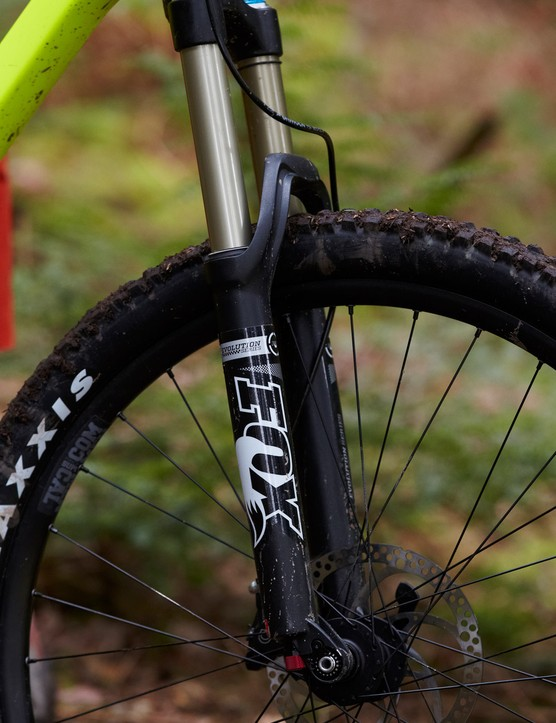 Fox's Evolution series 34 forks are seriously lacking in sophistication and consistent smoothness this year, so a pro retune is recommended