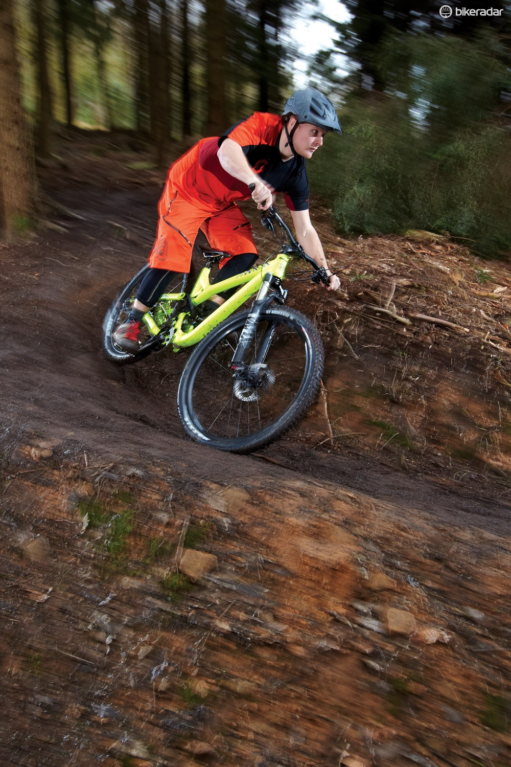 Commencal's Meta frame design puts all the suspension weight as low and central as possible for maximum stability