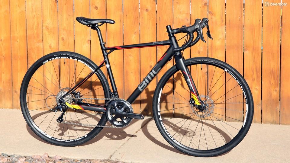577eff82f06 BMC's GranFondo GF02 is part road bike, part 'cross bike, and part touring