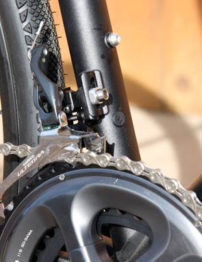 The front derailleur is a little tricky to set up but shifting is fantastic - and quiet - once you get it right