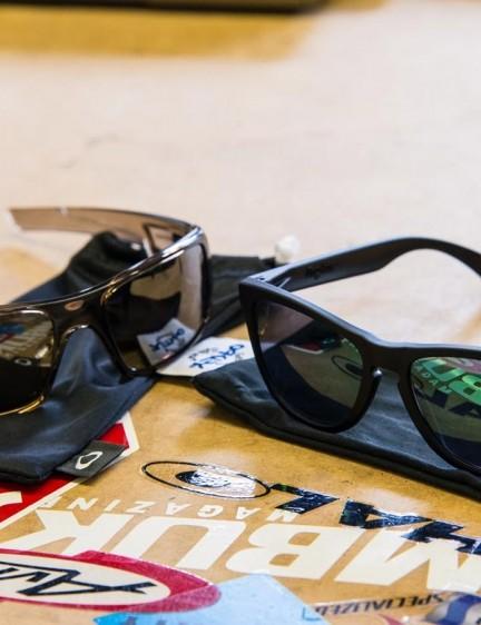 Oakley Frogskins & Crankshaft shades