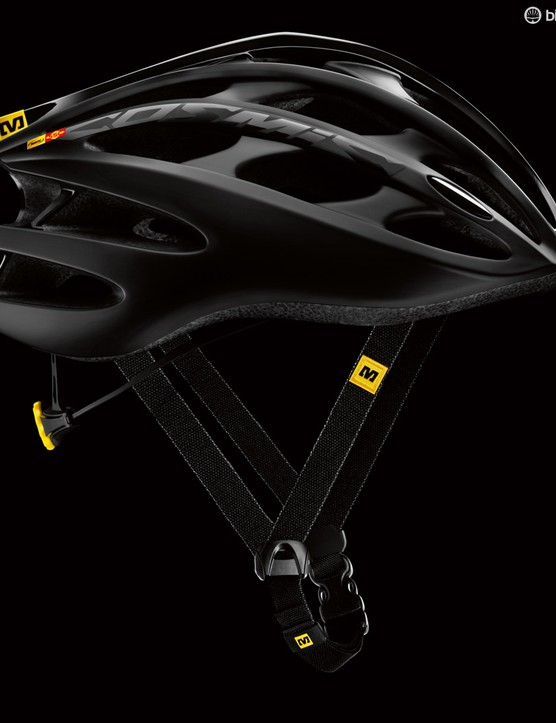 The new Mavic Cosmic Ultimate helmet, Mavic claim a medium weighs 210g