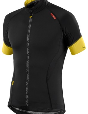 The Mavic HC jersey is designed so that each seam conforms to your body shape and avoids potential irritation points
