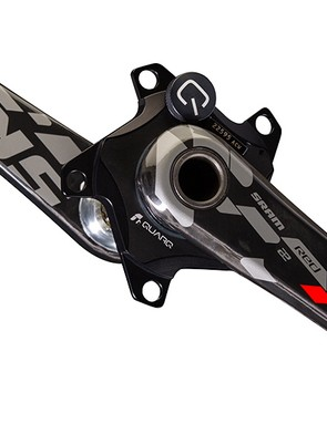 SRAM Quarq power meters will now be sold as a 'chassis' - with crank arms and spider but no chain rings