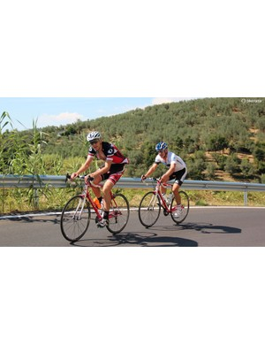 Quiet, paved climbs seem to have been created for cycling