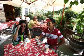 A vital part of Italian cycling culture — coffee