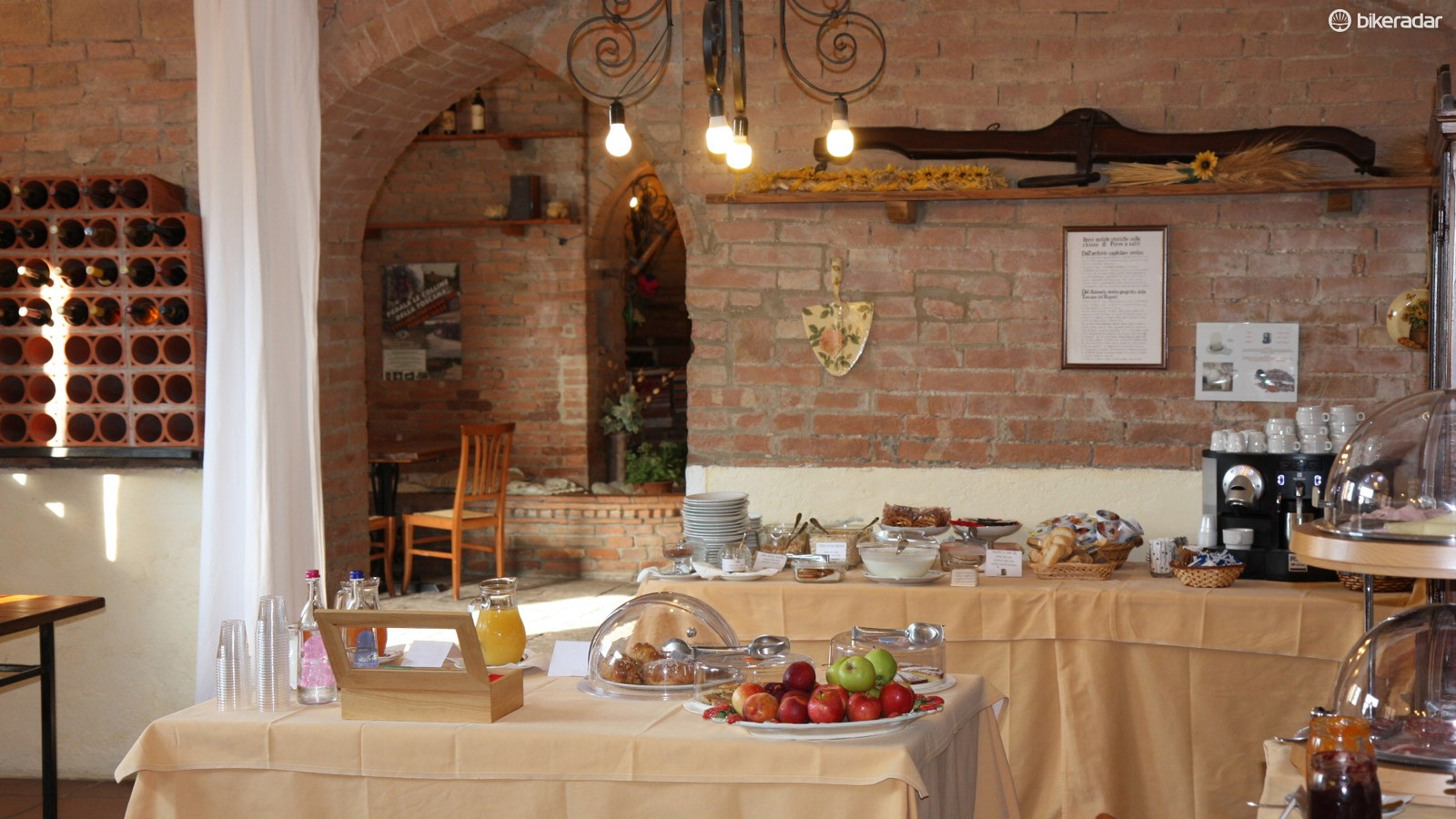 Pieve a Salti, in Chianti, is a converted farmhouse turned cycling agrotourism secret spot. Located along the L'Eroica course, Pieve a Salti is an example of the type of place S-Cape will send customers on self-guided tours