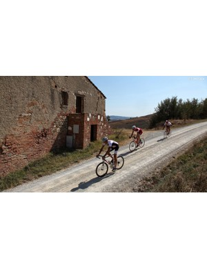 L'Eroica is an annual retro-style event that tackles gravel and paved roads on retro bikes —but the route is marked and open year round to ride on modern bikes, too