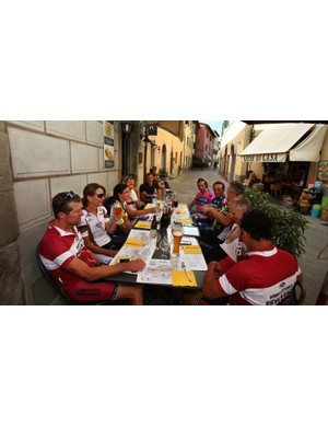 Taking refreshment at outdoor cafes is easy - and part of the experience