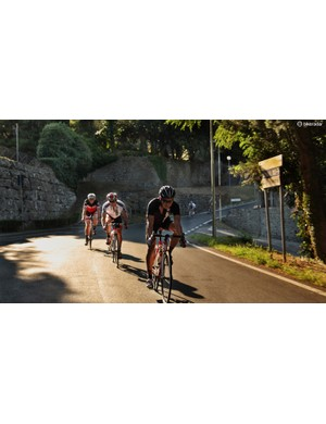 Italy repaved a number of roads, like these around Florence, for the 2013 world championships