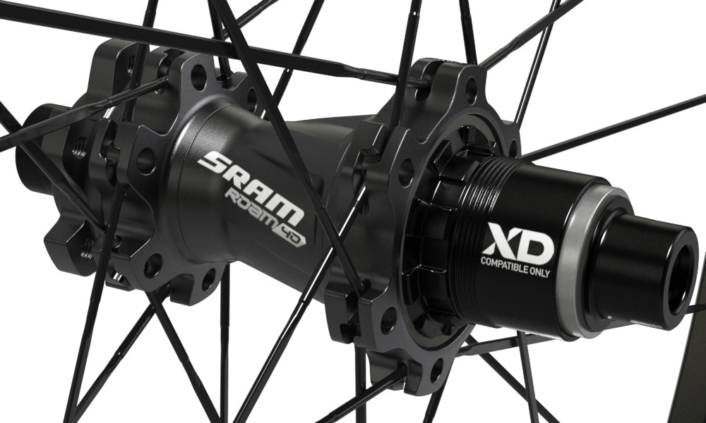 SRAM's Roam 40 wheels feature four pawls, providing 52 points of engagement