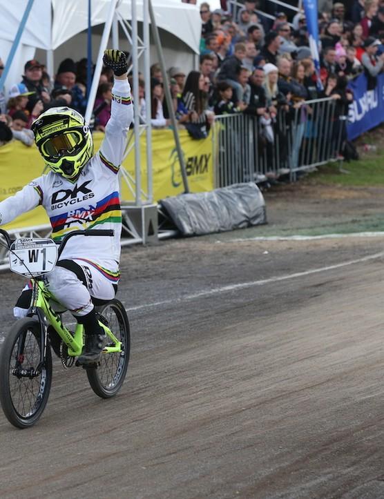 Caroline Buchanan regains Australian BMX title