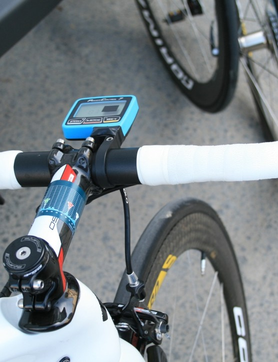 Guardini blocks out distracting SRM numbers too