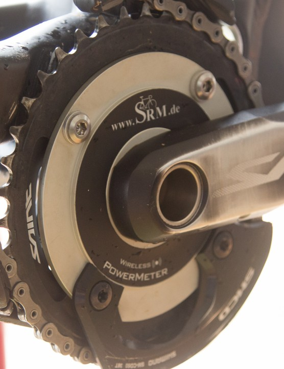 Downhiller Gee Atherton uses a power meter on his bike for output figures, but imagine if this also controlled his suspension compression