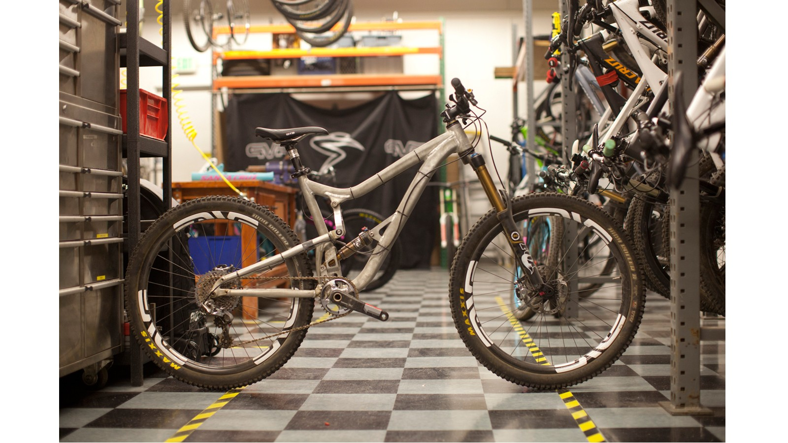 Santa Cruz experimented with many different designs in the process of revamping the Nomad