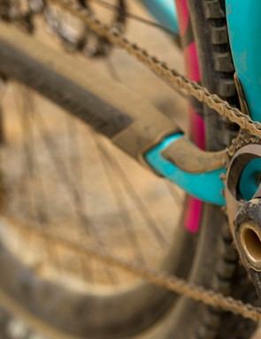The Nomad is one of a growing number of frames that ditch front derailleur compatability